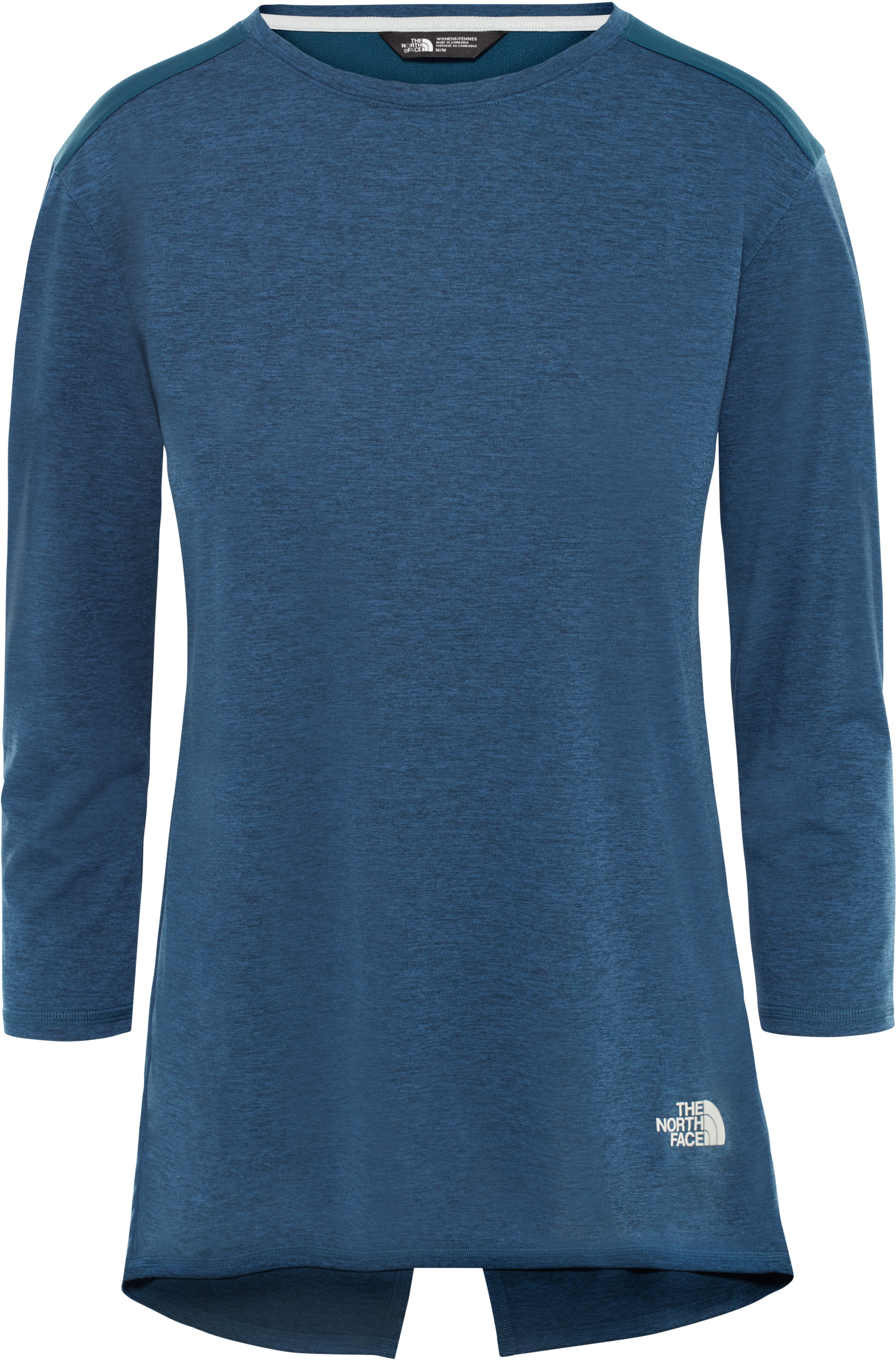 dd9cdd3cfd3 The North Face Inlux Hardloopshirt lange mouwen Dames blauw l Online ...
